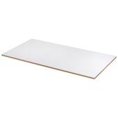 MDF plaat wit gegrond 122x61 cm dikte 18 mm