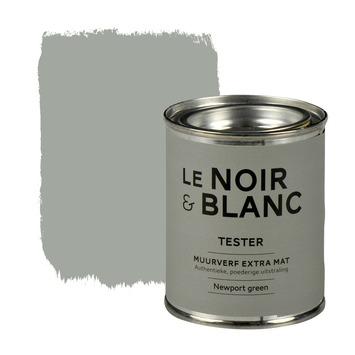 Le Noir & Blanc muurverf extra mat newport green 100 ml