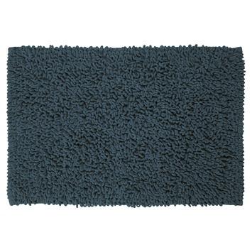 Sealskin badmat Twist blauw 60x90 cm