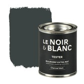 Le Noir & Blanc muurverf extra mat charcoal black 100 ml