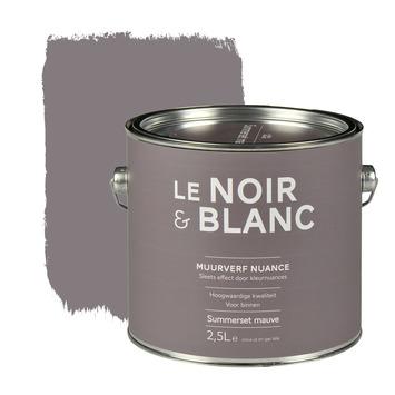 Le Noir & Blanc muurverf nuance summerset mauve 2,5 l