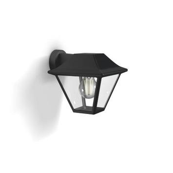 Philips buitenlamp Alpenglow zwart down