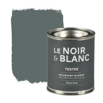 Le Noir & Blanc muurverf nuance petrol blue 100 ml