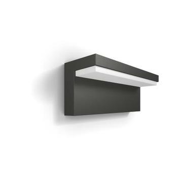 Philips wandlamp Bustan met geïntegreerde led 4,5 W grijs