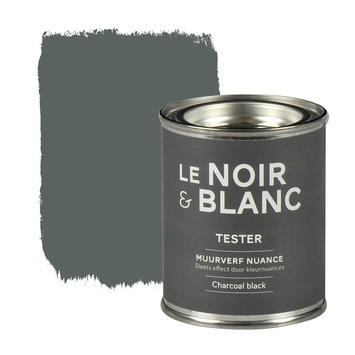 Le Noir & Blanc muurverf nuance charcoal black 100 ml