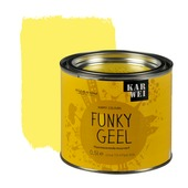 KARWEI Happy Colours accentverf zijdeglans funky geel fluorescerend 500 ml