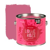 KARWEI Happy Colours muurverf mat lollie roze 2,5 l