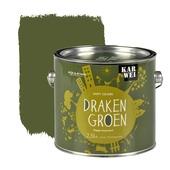 KARWEI Happy Colours muurverf mat drakengroen 2,5 l