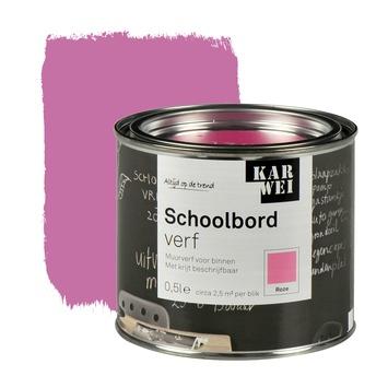KARWEI schoolbordverf mat roze 500 ml