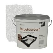 KARWEI muur- en plafond structuurverf werkende muren wit 5 kg