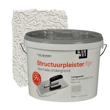 KARWEI structuurpleister fijn wit 10 kg