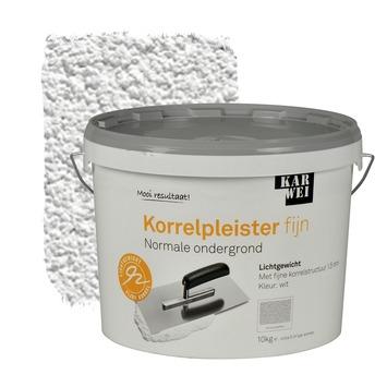 Karwei korrelpleister fijn wit 10 kg kopen gips pleister for Karwei openingstijden zondag