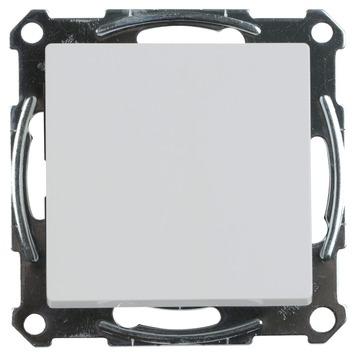 Merten System-M Pure inbouw kruisschakelaar actief Wit