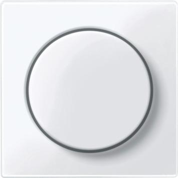 Merten System-M Pure Centraalplaat Dimmer Wit