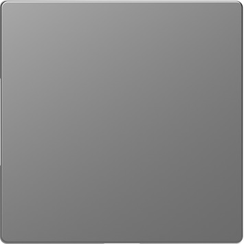 Merten D-Life blindplaat edelstaal