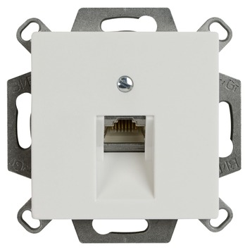 Jung Inbouw Stopcontact AS500 Wit