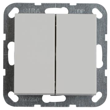 Gira ST55 inbouw serieschakelaar wit