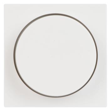 Gira ST55 centraalplaat dimmer wit