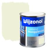 Wijzonol lak hoogglans zuiver wit (RAL 9010) dekkend 750 ml