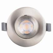 KARWEI inbouwspot LED richtbaar rond staal