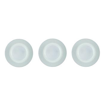 KARWEI LED inbouwspots mat glas 3 stuks