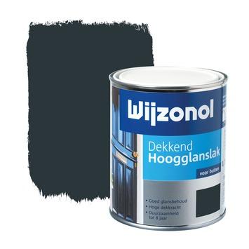 Wijzonol lak hoogglans koningsblauw dekkend 750 ml