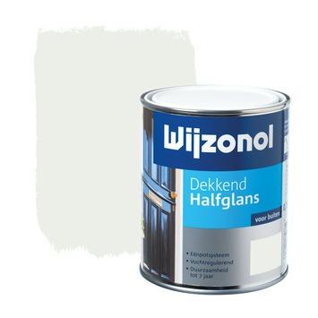 Wijzonol lak halfglans wit dekkend 750 ml