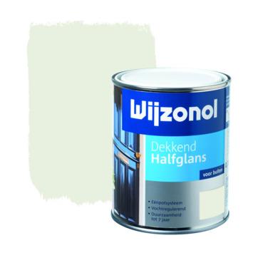 Wijzonol lak halfglans zuiver wit (RAL 9010) dekkend 750 ml
