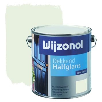 Wijzonol lak halfglans zuiver wit (RAL 9010) dekkend 2,5 l