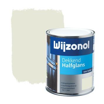Wijzonol lak halfglans roomwit dekkend 750 ml