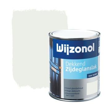 Wijzonol lak zijdeglans wit dekkend 750 ml
