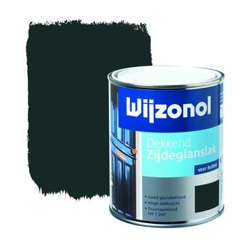 Wijzonol lak zijdeglans zuiver wit (RAL 9010) dekkend 750 ml