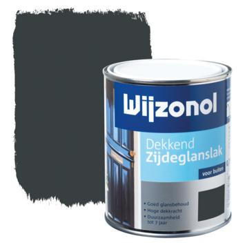 Wijzonol lak zijdeglans antraciet dekkend 750 ml
