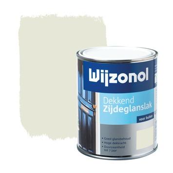 Wijzonol lak zijdeglans roomwit dekkend 750 ml