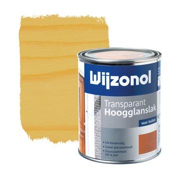 Wijzonol lak hoogglans blank transparant 750 ml