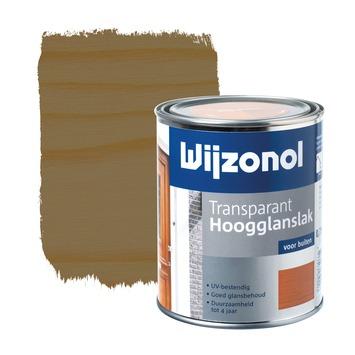 Wijzonol lak hoogglans noten transparant 750 ml