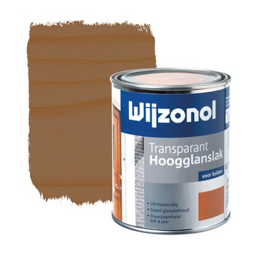 Wijzonol lak hoogglans mahonie transparant 750 ml