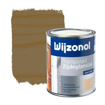 Wijzonol lak zijdeglans noten transparant 750 ml