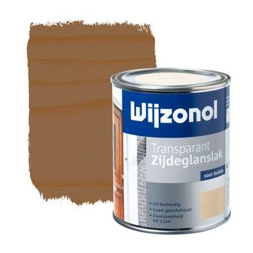 Wijzonol lak zijdeglans mahonie transparant 750 ml