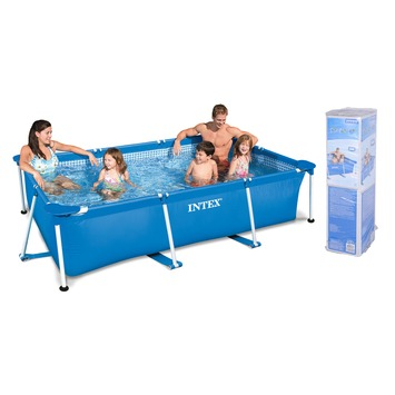 Rechthoekig zwembad 300x200x75 kopen karwei for Rechthoekig zwembad