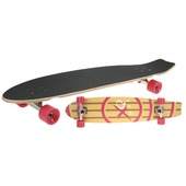 Longboard rood