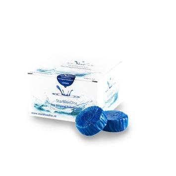 StarBlueDisc Halfjaar verpakking Blauw voor PureBasic toiletblokhouder