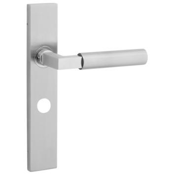 KARWEI Fulham deurkrukset met slotgat voor wc 63/8mm rvs