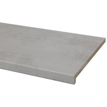 CanDo vensterbank MDF warm beton 30x250 cm