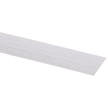 CanDo vensterbank kantenband 35 mm vintage wit 45 cm 2 stuks