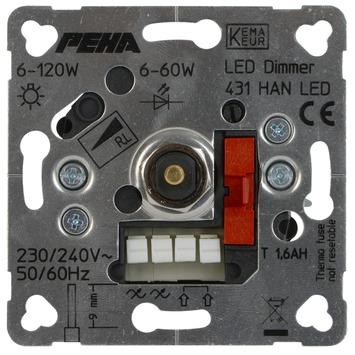 Peha Standard Inbouwdimmer Led/ Gloei/ Halogeen 60-400 Watt