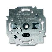 Busch-Jaeger inbouw dimmer 230V gloei/halogeen draai 60-400 watt