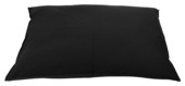 Loungekussen 100x70 zwart