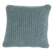 Kussen Knitted 45x45 Grijsgroen