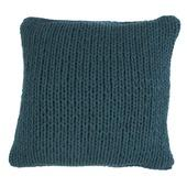 Kussen Knitted 45x45 Petrol
